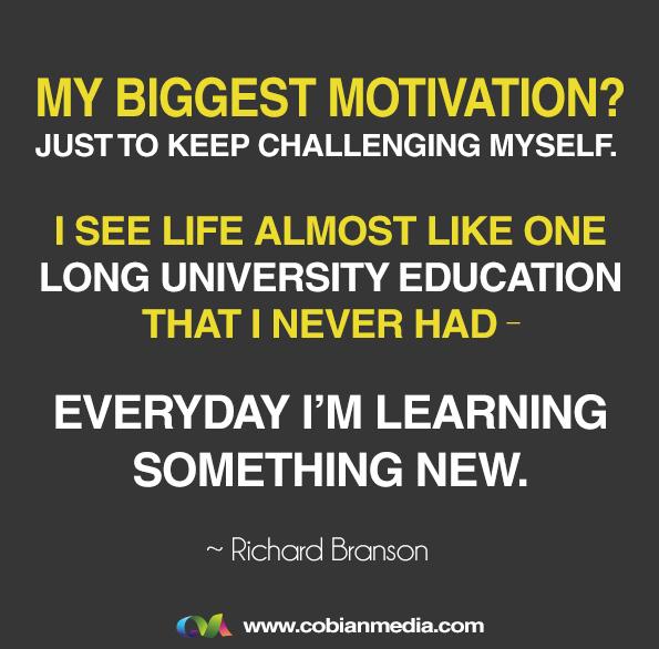 Frases emprendedoras-Se aprende algo todos los dias