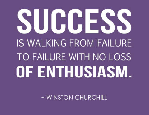 El entusiasmo te guiará al éxito