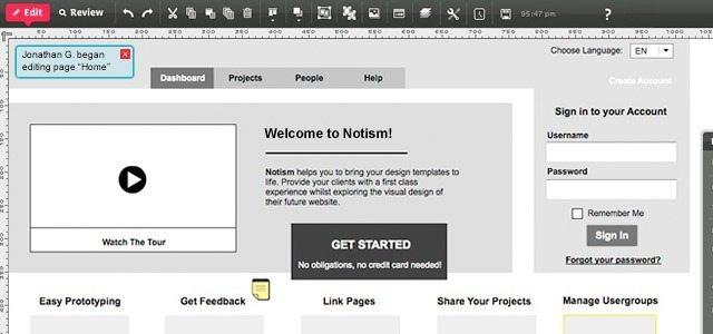HotGloo para maquetas interactivas
