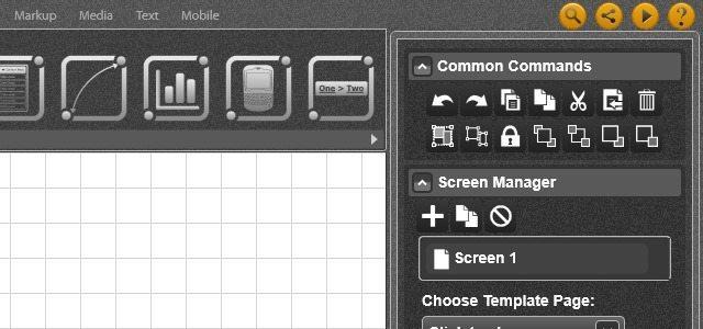 Mockup Builder para maquetas interactivas